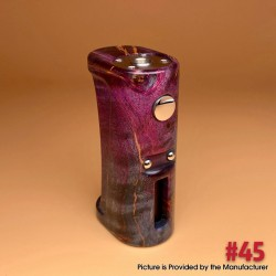 Stratum V5.1 Style VW Variable Wattage Vape Box Mod - 45 Color, Stabilized Wood, 1~60W, 1 x 18650, Evolv DNA 60 Chip