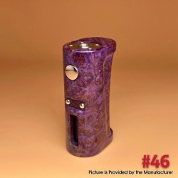 Stratum V5.1 Style VW Variable Wattage Vape Box Mod - 46 Color, Stabilized Wood, 1~60W, 1 x 18650, Evolv DNA 60 Chip
