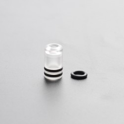 Replacement Drip Tip for Kayfun KF Lite 2019 Style RTA - Translucent, PC
