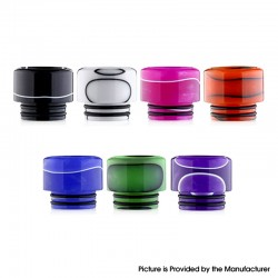 Replacement 810 Drip Tip for SMOK TFV8 / TFV12 Tank / Kennedy / Battle / Reload RDA - Random Color, Resin, 14.5mm (1 PC)