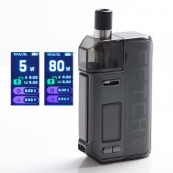 Authentic SMOKTech SMOK Fetch Pro 80W VW Mod Pod System Vape Starter Kit