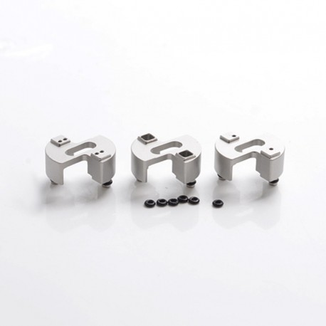 SXK Style Replacement Basic 2.0 Airflow Inserts for SXK 5A's Basic V2 Style RDA - 316SS, 2x1.0mm / 4x1.0mm / 2x3.0mm (3 PCS)