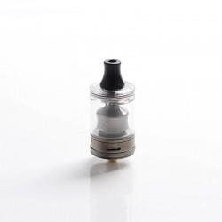 Authentic Wotofo COG MTL RTA Rebuildable Tank Vape Atomizer - Gunmetal, Stainless Steel + PCTG, 3ml, 22mm Diameter