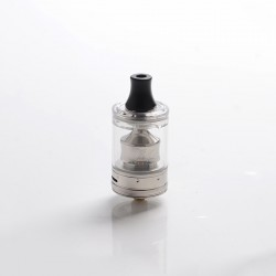 Authentic Wotofo COG MTL RTA Rebuildable Tank Vape Atomizer - Silver, Stainless Steel + PCTG, 3ml, 22mm Diameter