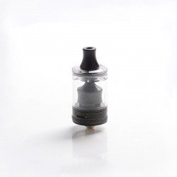 Authentic Wotofo COG MTL RTA Rebuildable Tank Vape Atomizer - Black, Stainless Steel + PCTG, 3ml, 22mm Diameter