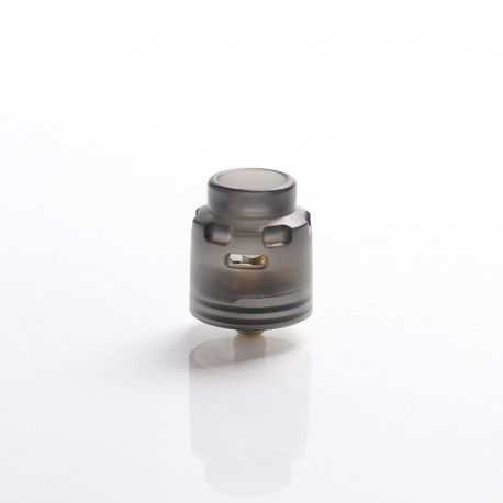 Authentic Hellvape Dead Rabbit SE RDA Rebuildable Dripping Vape Atomizer w/ BF Pin - Black, PCTG + SS, 24mm Diameter
