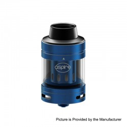 [Ships from HongKong] Authentic Aspire Nepho Sub Ohm Tank Clearomizer - Blue, 4ml, 27mm Diameter