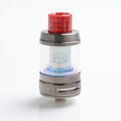 [Ships from HongKong] Authentic Innokin iSub-B Sub Ohm Tank Clearomizer - Gun Metal, 3ml / 4ml, 0.35ohm, 24mm Diameter