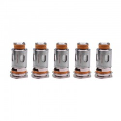 [Ships from HongKong] Authentic GeekVape Aegis Replacement Coil for Aegis Boost Kit / Pod - Silver, 0.4ohm (5 PCS)
