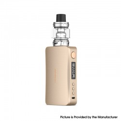 [Ships from HongKong] Authentic Vaporesso GEN 220W TC VW Variable Wattage Mod w/ SKRR-S Tank Kit - Gold, 5~220W, 8ml, 2 x 18650