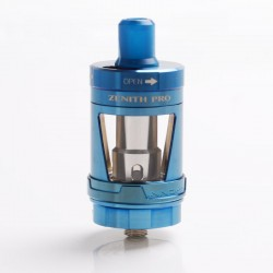[Ships from HongKong] Authentic Innokin Zenith Pro RDL / MTL Sub Ohm Tank Vape Atomizer - Blue, 5.5ml, 24mm Diameter