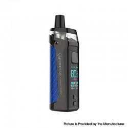 [Ships from HongKong] Authentic Vaporesso Target PM80 80W 2000mAh Sub Ohm DTL VW Pod System - Blue, 4ml, 0.2ohm / 0.3ohm, 5~80W