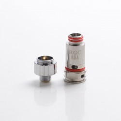 [Ships from HongKong] Authentic SMOKTech SMOK RPM80 / RPM80 Pro Replacement RGC RBA Clapton Fe-Cr /NiCr Coil Head - 0.6ohm