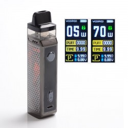 [Ships from HongKong] Authentic VOOPOO VINCI X 70W VW Pod System with 5 PnP Coils - Scarlet, 0.3ohm /0.6ohm, 5~70W, 1 x 18650