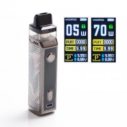[Ships from HongKong] Authentic VOOPOO VINCI X 70W VW Pod System w/ 5 PnP Coils - Teal Blue, 0.3ohm /0.6ohm, 5~70W, 1 x 18650