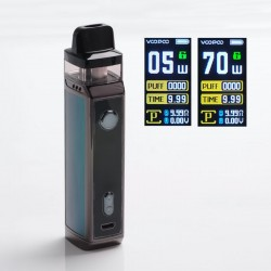 [Ships from HongKong] Authentic VOOPOO VINCI X 70W VW Pod System w/ 5 PnP Coils - Drazzling Green, 0.3ohm /0.6ohm, 5~70W