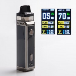 [Ships from HongKong] Authentic VOOPOO VINCI X 70W VW Pod System w/ 5 PnP Coils - Space Gray, 0.3ohm/0.6ohm, 5~70W, 1 x 18650