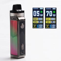 [Ships from HongKong] Authentic VOOPOO VINCI X 70W VW Pod System with 5 PnP Coils - Aurora, 0.3ohm / 0.6ohm, 5~70W, 1 x 18650