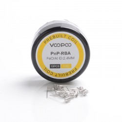 [Ships from HongKong] Authentic Voopoo Half-DL / MTL PnP-RBA Prebuilt Heating Wire Coil for Voopoo VINCI - 0.6ohm (10 PCS)
