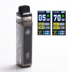 [Ships from HongKong] Authentic VOOPOO VINCI X 70W VW Pod System with 5 PnP Coils - Ink, 0.3ohm / 0.6ohm, 5~70W, 1 x 18650