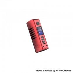 Authentic Dovpo Odin Mini DNA75C 75W TC VW Variable Wattage Vape Box Mod - Brushed Red, Aluminum Alloy, 1~75W, 1 x 21700