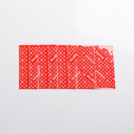 18650 Battery PVC Wrappers Skin Sticker for LG MH1 / LG HB6 / Samsung ICR18650-26F/Samsung INR18650, etc. - Suprise Skin (5 PCS)