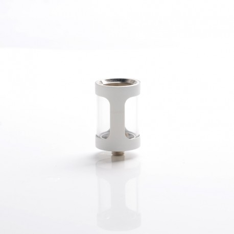 Authentic Joyetech Cubis Tank Vape Atomizer Replacement Colorful Tank Tube - White, Glass + Stainless Steel, 3.5ml