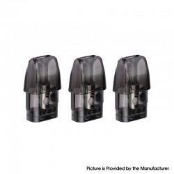 Authentic Demon Killer Fod Pod System Vape Kit Replacement Pod Cartridge w/ 1.0ohm Coil - Black, 2ml (3 PCS)
