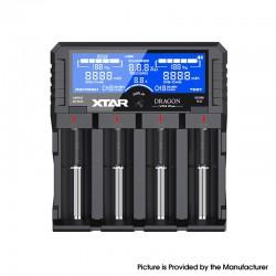Authentic XTAR DRAGON VP4 Plus Charger for 3.6V / 3.7V Li-ion /IMR/INR/18350, 18500, 18650, 18700, 20700, 21700 Batteries, etc.