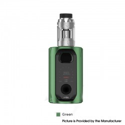 Authentic Augvape VX217 217W TC VV VW Mod Vape Starter Kit with Intake Sub Ohm Tank - Green, 5~217W, 2 x 18650 / 20700 / 21700