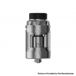 Authentic Augvape Intake Sub Ohm Tank Vape Atomizer - Stainless Steel, SS + Glass, 3.5ml / 5ml, 0.15ohm / 0.2ohm, 25mm Diameter