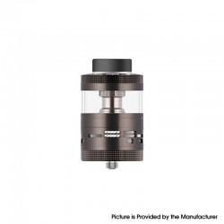 Authentic Steam Crave Aromamizer Ragnar RDTA Rebuildable Dripping Tank Vape Atomizer - Gunmetal, SS + Glass, 18ml, 35mm Diameter