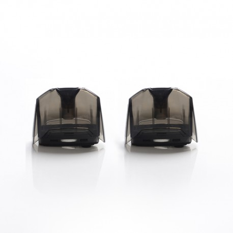 Authentic GeekVape Aegis Pod System Vape Kit Replacement Empty Pod Cartridge - Black, 3.5ml (2 PCS)