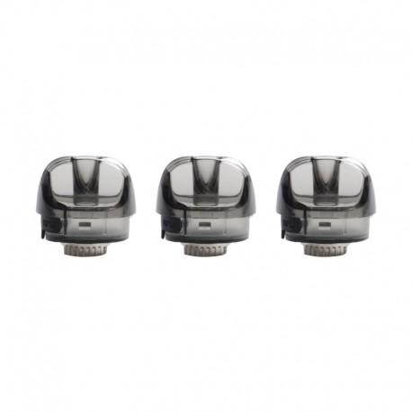 Authentic SMOKTech SMOK Pozz X Pod System Vape Kit Replacement RPM Empty Pod Cartridge - Black, PCTG, 4.5ml (3 PCS)