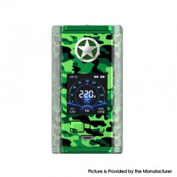 Vaptio Capt'n 220W Mod - Camouflage Green