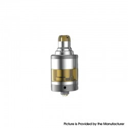 Yachtvape Pandora 30 Plus Airflow Combinations MTL RTA - Silver