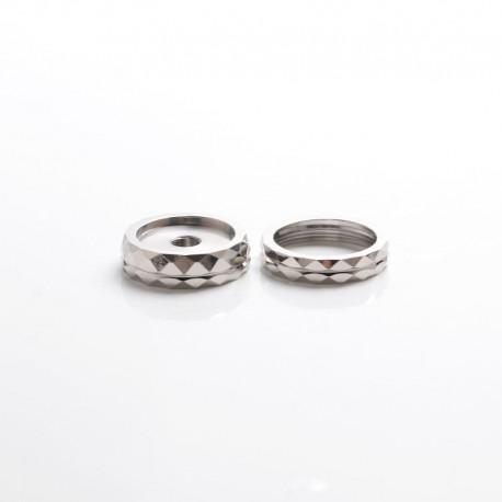 SXK Diamond 510 Thread Adapter & Decorative Ring for SXK Stickman SLGT V2 Gera GT Style VW Box Mod - 8 x 30mm + 6 x 30mm (2 PCS)