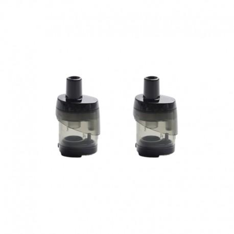 Authentic Vaporesso Target PM30 Pod System Vape Kit Replacement Empty Pod Cartridge - Black + Transparent, 3.5ml (2 PCS)