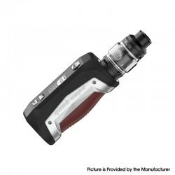 Authentic GeekVape Aegis Max 100W TC VW Mod Vape Starter Kit w/ Zeus Tank - Grey Pearl, 1~100W, 100~315'C, 1 x 18650 / 21700