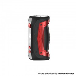 Authentic GeekVape Aegis Max 100W TC VW Variable Wattage Vape Box Mod - Red Phoenix, 1~100W, 100~315'C, 1 x 18650 / 21700