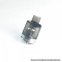 Authentic Advken Barra Mesh Sub Ohm Tank Clearomizer - Black, PCTG + Stainless Steel, 4ml, 0.16ohm / 0.2ohm, 24mm Diameter