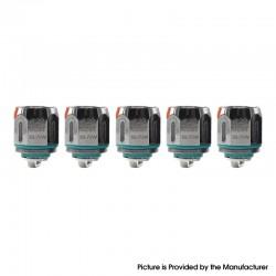 Authentic Advken Barra Tank Vape Atomizer Replacement Mesh Coil Head - Silver, 0.2ohm (50~70W) (5 PCS)