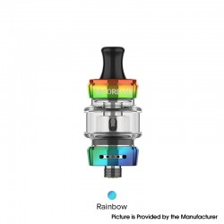 Authentic Vaporesso GTX 18 MTL / DTL Sub Ohm Tank Clearomizer - Rainbow, SS + Glass, 3ml, 0.8ohm / 1.2ohm, 22mm Diameter
