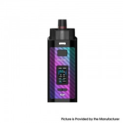 Authentic SMOK RPM160 160W VW Mod Pod System Vape Starter Kit - 7-Color Carbon Fiber, 0.15ohm, 5~160W, 2 x 18650, IQ-160 Chipset