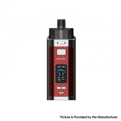 Authentic SMOK RPM160 160W VW Mod Pod System Vape Starter Kit - Red Carbon Fiber, 0.15ohm, 5~160W, 2 x 18650, New IQ-160 Chipset