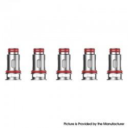 Authentic SMOKTech SMOK RPM160 Mod Pod Vape Kit / Cartridge Replacement Nichel-chrome Mesh Coil Head - Silver, 0.15ohm (5 PCS)