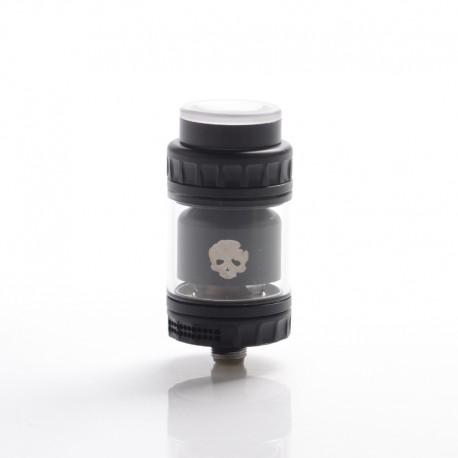 Authentic Dovpo x Vaping Bogan Blotto Mini RTA Rebuildable Tank Vape Atomizer - Black, Glass + PCTG, 2ml / 4ml, 23.4mm Diameter
