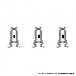 Authentic Suorin Elite Mod Pod Vape Kit / Cartridge Replacement Mesh Coil Head - Silver, 0.4ohm (3 PCS)
