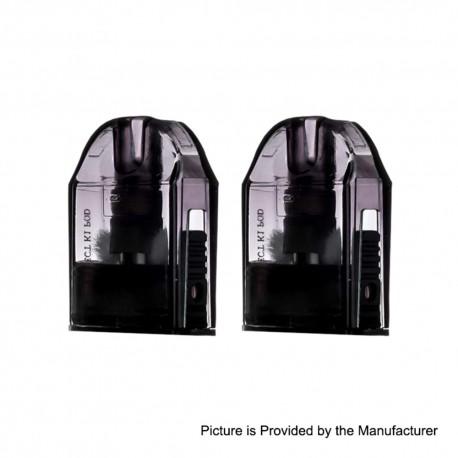 Authentic Pioneer4You iPV Aspect K1 Replacement Pod Cartridge - Black, 2.0ml, 1.0ohm (2 PCS)