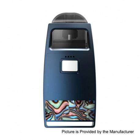 Authentic Pioneer4You iPV Aspect 750mAh Pod System Vape Starter Kit - Blue, 1.0ohm, 2.0ml